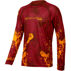 Endura MT500 Animo LS T-Shirt Men, paprika